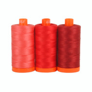 Aurifil Color Builder - Pompeii Red