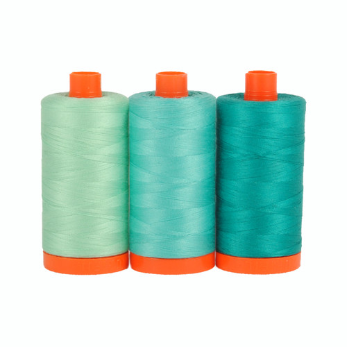 Aurifil Color Builder - Capri Teal