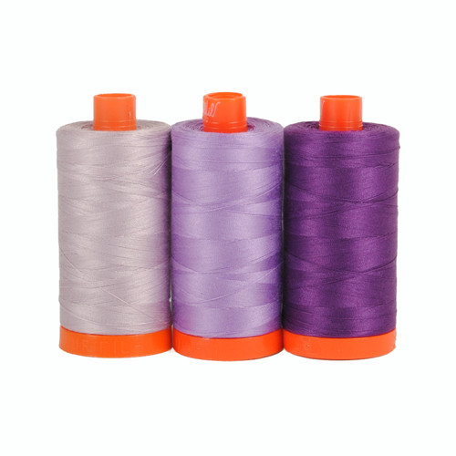 Aurifil Color Builder - Amalfi Purple