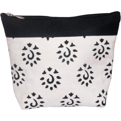 Knitter's Pride Black Amber Big Zipper Pouch