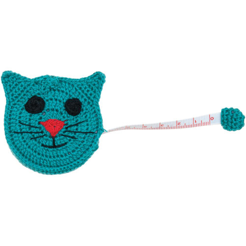 "Paradise Crocheted Tape Measure 60"" - Cat"