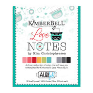 Aurifil Kimberbell Love Notes Thread Set