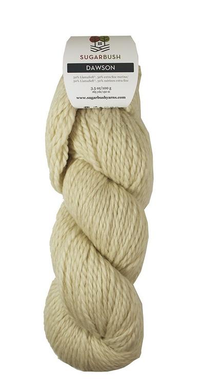 Dawson Wool/LlamaSoft Bulky Yarn by Sugar Bush Yarns
