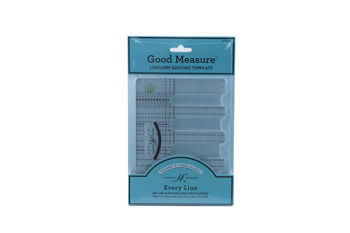 Good Measure Longarm Quilting Template by Amanda Murphy - Every Line