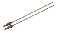 "Nirvana 10"" Mango Single Point Knitting Needles"