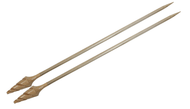 "Nirvana 10"" Bamboo Single Point Knitting Needles"