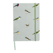 A5 Fabric Notebook - Garden Birds