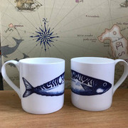 Windswept girlie mackerel mugs PrettyUseful