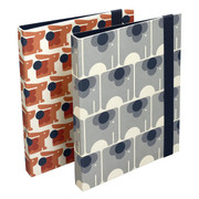 Set of 2 Slim Ring Binders - Animals
