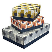 Set of 3 Storage Boxes - Animals