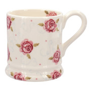 Tiny Scattered Rose 1/2 Pint Mug