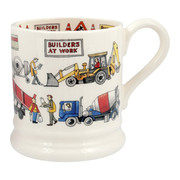 Builders at Work 1/2 Pint Mug