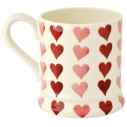 1/2 Pint vertical hearts mug