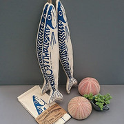 Tea Towel - 3 Mackerels