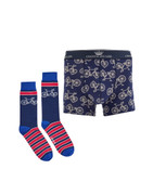 Joules Put a Sock in it Gift Pack (Boxers and Socks)