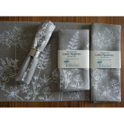Napkins - Set of 2 - Natural hedgerow