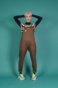 Lucy & Yak Cappuccino Umi Dungarees