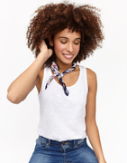 Joules Bo Bright white vest top