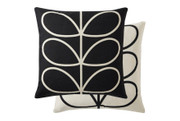 Orla Kiely Linear Stem Cushion - Slate Grey