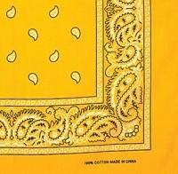 f4d1f34b27dc9 Yellow Wholesale Bandanas Dozen Bulk Bandannas