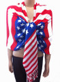 Pashmina American Flag Print Dozen #103