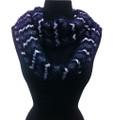 Super Soft Chevron  Knit Infinity Scarf Assorted Dozen #608b