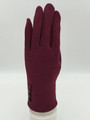 Four Button touch Gloves Assorted dozen # G1059