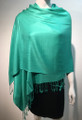 Pashmina Solid Dark Mint Dozen #2-44