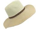 Fashion Summer Straw Hat  Beige / Ivory # H8014-1