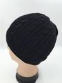 Unisex Beanie Hats Black Dozen #H1138BK