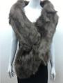 Super Soft Faux Fur  Warm Scarf Tauple  #S 82-3