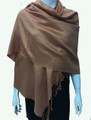 New!  Solid Color Metallic Pashmina Orange Dozen #8-6
