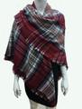 Womens Stylish shawl  Scarf  Red # P171-2