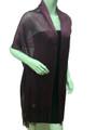 Women's glitter metallic shawl scarf  Mulberry # 736-2