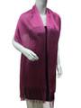Women's glitter metallic shawl scarf  Hot Pink # 736-9