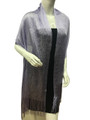 Women's glitter metallic shawl scarf lavender # 736-15