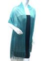 women's glitter metallic shawl scarf  Mint # 736-19