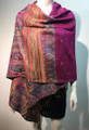 New!   Metallic Pashmina  hot pink Dozen #58-14