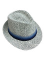 Summer Straw Monochromatic Fedora Hat Assorted Dozen #8028