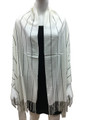 Cashmere Feel shawl  Scarves White # 93-5