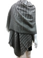 Unisex check Pattern Shawl Scarf Assorted Dozen  # 98