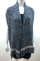 New !  Two Tone Knit Vest  Poncho Assorted Dozen # P209