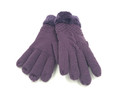 New! Ladies knit Gloves With Thick Fleece Lined  and Cable design  Assorted dozen # G1033