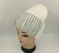 New! Ladies' Stylish Slouchy Rhinestone Stone knit  Hats White #H1222