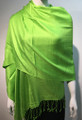 Pashmina Solid  Lime Green #2-38