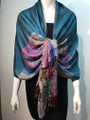 New!  Multicolor Paisley Pashmina  Assorted Dozen #160