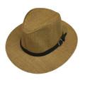 Fashion Summer Straw Hat Khaki # H8025-3
