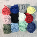 Solid Color Sequin Scarf Assorted Dozen  #4715