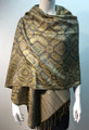 New!   Metallic Pashmina  Gray Dozen # S168-2