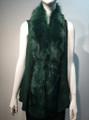 New! Elegant Women's - Faux Fur  Poncho Vest  Cape Green # P222-9
